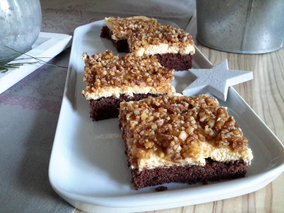 Blechkuchen Gebrannte Mandeln Von Julie13 Chefkoch De