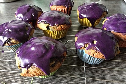 Blaubeer-Buttermilch Muffins 18