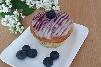 Blaubeer-Buttermilch Muffins 2