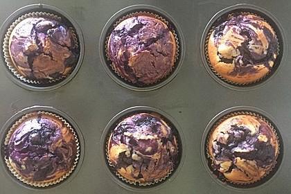 Blaubeer-Buttermilch Muffins 11