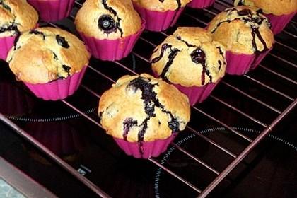 Blaubeer-Buttermilch Muffins 15