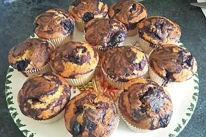 Blaubeer-Buttermilch Muffins 40