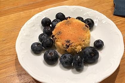Blaubeer-Buttermilch Muffins 32