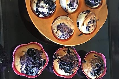 Blaubeer-Buttermilch Muffins 39