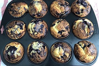 Blaubeer-Buttermilch Muffins 13
