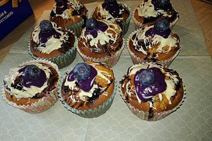 Blaubeer-Buttermilch Muffins 35