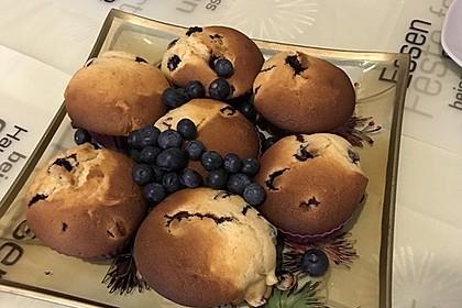 Blaubeer-Buttermilch Muffins 8