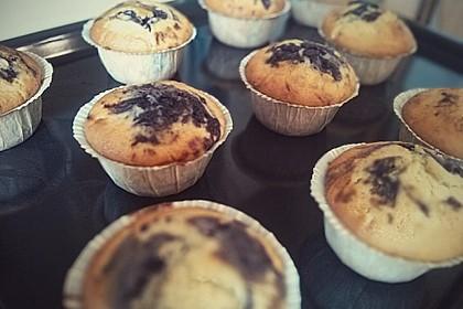 Blaubeer-Buttermilch Muffins 23
