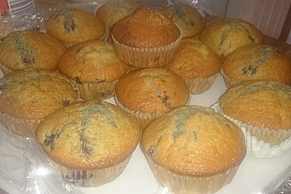 Blaubeer-Buttermilch Muffins 14