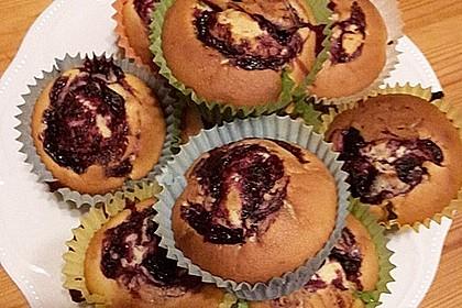 Blaubeer-Buttermilch Muffins 19