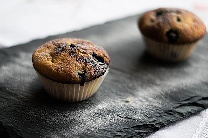 Blaubeer-Buttermilch Muffins 3
