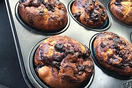 Blaubeer-Buttermilch Muffins 26