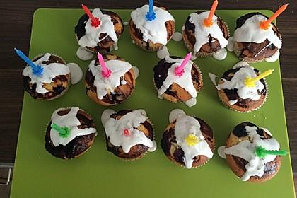 Blaubeer-Buttermilch Muffins 42
