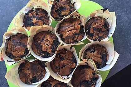 Blaubeer-Buttermilch Muffins 24