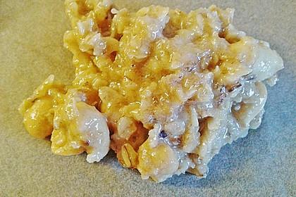 Haferflocken-Erdnuss Kekse 5