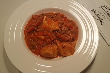 Hühnchen-Linsen-Curry (Bild)