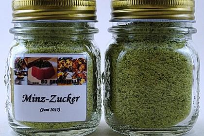 Grüner Pfefferminzzucker 4