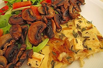 Vegetarischer Schafskäse-Fladen 6