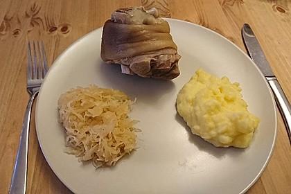 Eisbein mit Sauerkraut 3