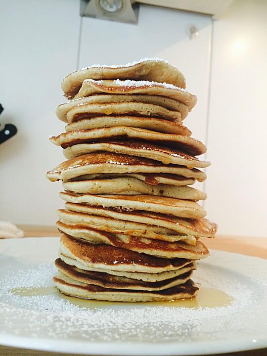 American Pancakes Grundrezept Von Adideluxe Chefkoch De