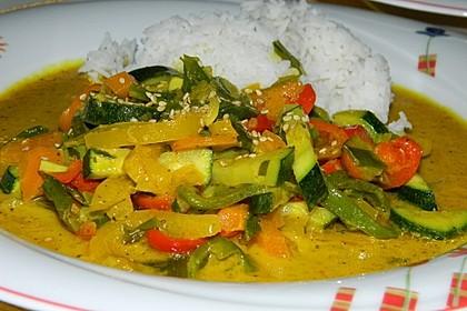 Gelbes Thai-Gemüsecurry 1