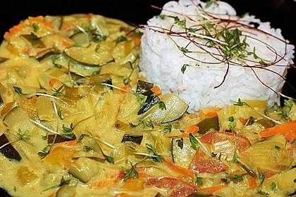 Gelbes Thai-Gemüsecurry 2