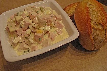 Fleischsalat für Partys oder gemütliche Abende 1