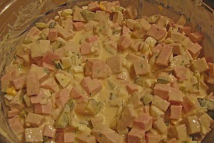 Fleischsalat für Partys oder gemütliche Abende