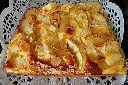 Schlanker Apfelkuchen vom Blech 1
