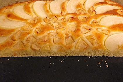 Schlanker Apfelkuchen vom Blech 4