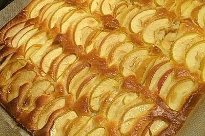 Schlanker Apfelkuchen vom Blech 5