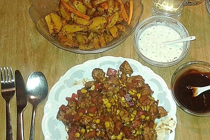 Country Potatoes-Western Wedges (Bild)