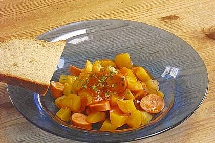 Kartoffel-Wurst-Gulasch 1