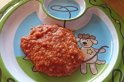Spagetti Bolognese für Babys 4