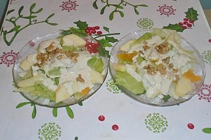 Eisberg-Orangen Salat (Bild)