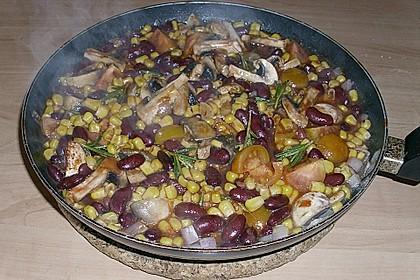 Schnelle Chili-Bohnen Pfanne in 10 Minuten 1