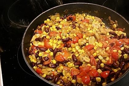 Schnelle Chili-Bohnen Pfanne in 10 Minuten 3