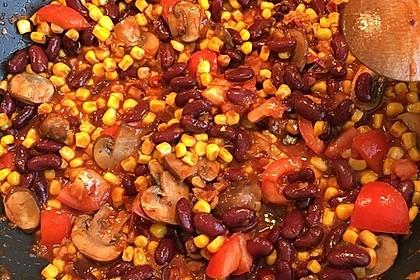 Schnelle Chili-Bohnen Pfanne in 10 Minuten 2