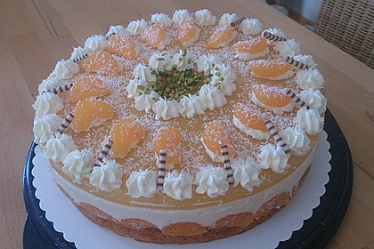 Mandarinen-Kokos Torte