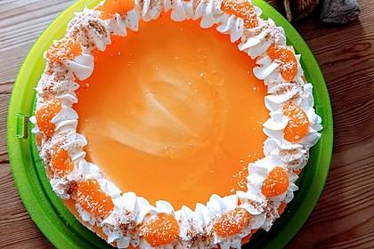 Mandarinen-Kokos Torte 2