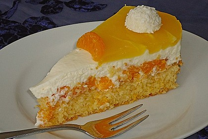 Mandarinen-Kokos Torte 6