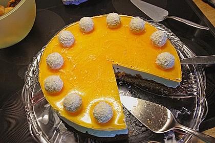 Mandarinen-Kokos Torte 4