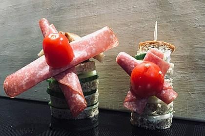 Brot-Gemüse Windmühlen 2