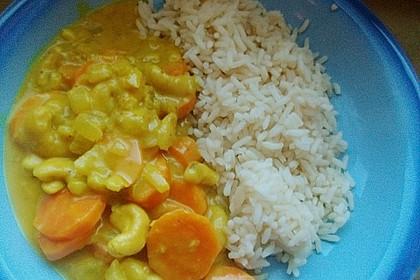 Cashew-Möhren-Kokos Curry 8