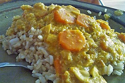 Cashew-Möhren-Kokos Curry 9