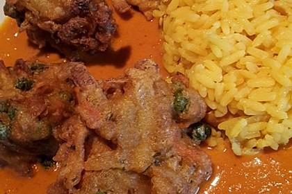 Pangasius in Kokos-Curry Soße 1
