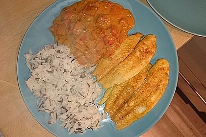 Pangasius in Kokos-Curry Soße 2