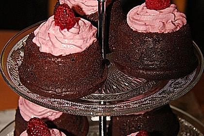 Schoko-küsst-Himbeer Cupcakes 104