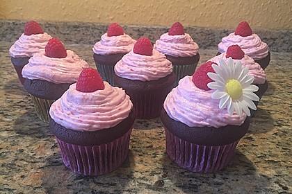 Schoko-küsst-Himbeer Cupcakes 21
