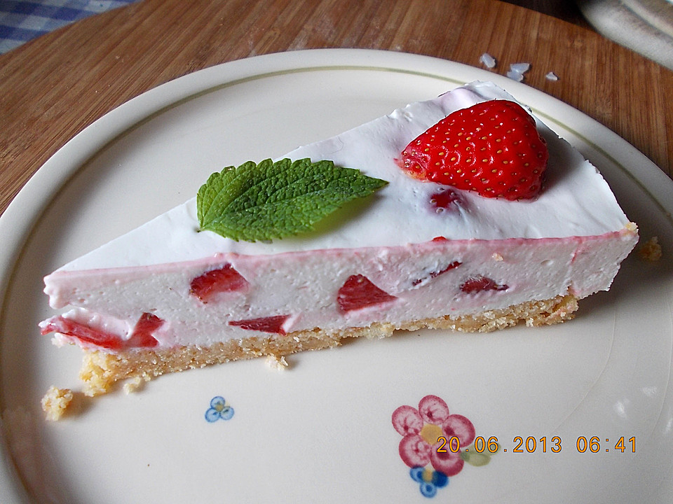 Erdbeer Frischkase Torte Von Birgit1980 Chefkoch De
